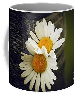 Margarite Flowers Coffee Mug