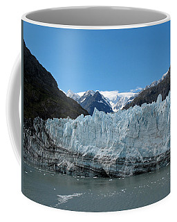 Coffee Mug featuring the photograph Margerie Glacier And Mount Fairweather by Connie Fox