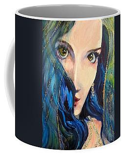 Mariah Blue Coffee Mug