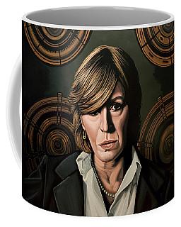 Marianne Faithfull Painting Coffee Mug