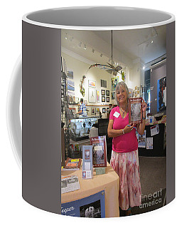 Coffee Mug featuring the photograph Marie And The Recordkeeper by Marie Neder