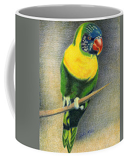 Marigold Lorikeet Coffee Mug