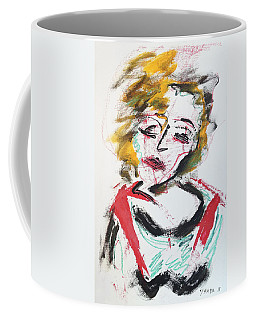 Marilyn Abstract Coffee Mug