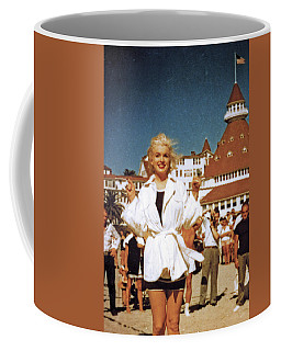 Marilyn And Turrett Coffee Mug