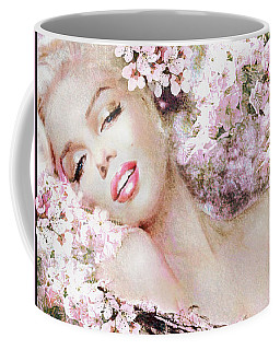 Marilyn Cherry Blossom B Coffee Mug