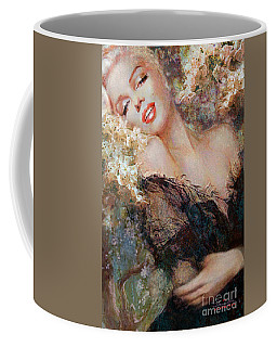 Marilyn Cherry Blossom Coffee Mug