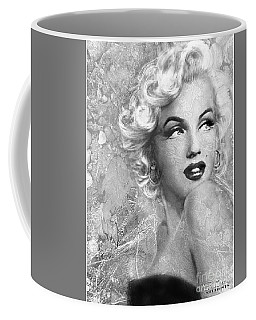 Marilyn Danella Ice Bw Coffee Mug
