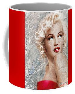 Marilyn Danella Ice Coffee Mug