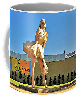 Marilyn In Palm Springs Coffee Mug