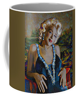 Marilyn Monroe 126 Monalisa Coffee Mug