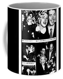 Marilyn Monroe And Joe Dimaggio 1950s Photos By Unknown Japanese Photographer Coffee Mug