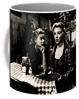 Coffee Mug featuring the photograph Marilyn Monroe Blond Sex Goddess by R Muirhead Art
