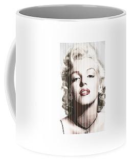 Marilyn Monroe - Colored Verticals Coffee Mug