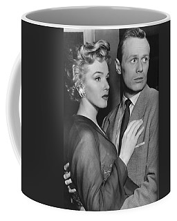 Coffee Mug featuring the photograph Marilyn Monroe In Don't Bother To Knock by R Muirhead Art