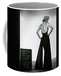 Coffee Mug featuring the photograph Marilyn Monroe In Gentlemen Prefer Blondes by R Muirhead Art