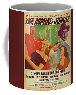 Marilyn Monroe In The Asphalt Jungle Movie Poster Coffee Mug