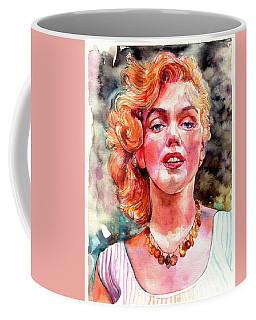 Marilyn Monroe Painting Coffee Mug
