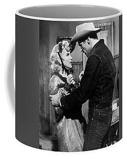 Coffee Mug featuring the photograph Marilyn Monroe Scene by R Muirhead Art