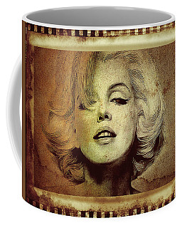Coffee Mug featuring the photograph Marilyn Monroe Star by Ericamaxine Price