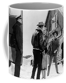 Coffee Mug featuring the photograph Marilyn Monroe Western Scene by R Muirhead Art
