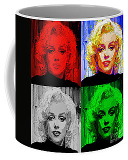 Marilyn Monroe - Quad. Pop Art Coffee Mug