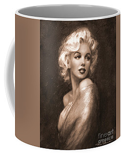 Marilyn Ww Sepia Coffee Mug