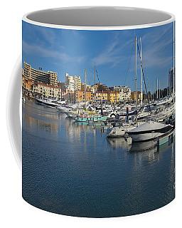 Marina Of Vilamoura At Afternoon Coffee Mug