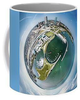 Coffee Mug featuring the photograph Marina by Randy Scherkenbach