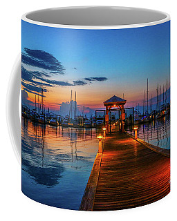Marina Sunrise Coffee Mug