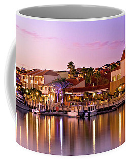 Marina Sunset, Mindarie Coffee Mug by Dave Catley
