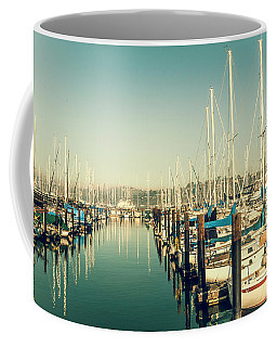 Marinaside Sausalito California Coffee Mug