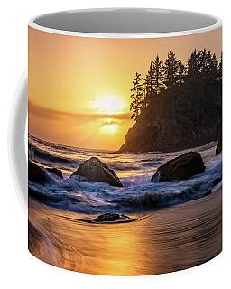 Marine Layer Sunset At Trinidad, California Coffee Mug