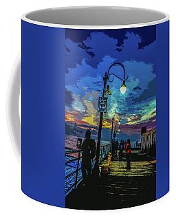 Marine's Silhouette  Coffee Mug