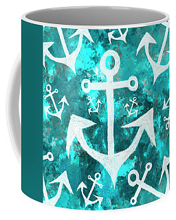 Maritime Anchor Art Coffee Mug