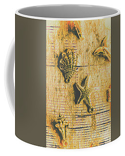 Maritime Sea Scroll Coffee Mug