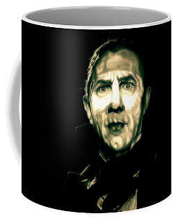 Mark Of The Vampire Coffee Mug by Fred Larucci
