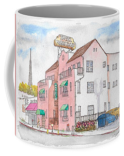 Mark Twain Hotel In Hollywood, California Coffee Mug