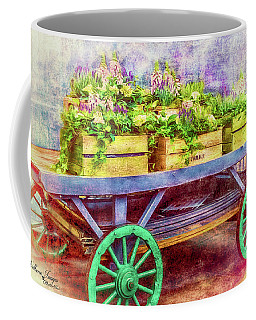 Coffee Mug featuring the photograph Market Flowers by Wallaroo Images