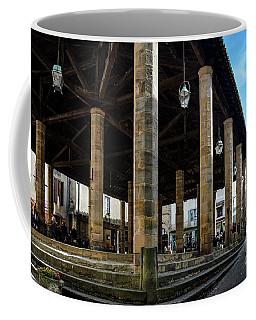 Market Hall Of Cordes-sur-ciel Coffee Mug by RicardMN Photography