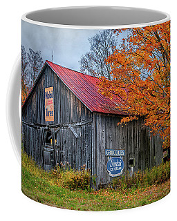Marlboro Country - Vermont Barn Art Coffee Mug