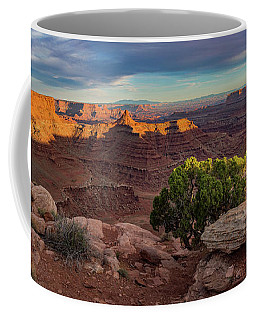Marlboro Point Sunset Panorama Coffee Mug