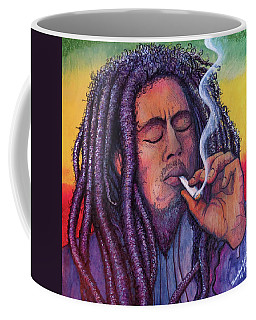 Marley Smoking Coffee Mug