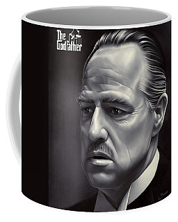 Marlon Brando Drawing  Coffee Mug
