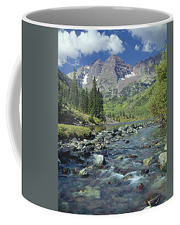 210404-maroon Bells And Creek  Coffee Mug