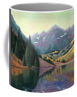 Maroon Bells In October Coffee Mug