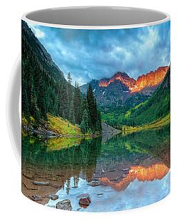 Maroon Bells Sunrise Coffee Mug