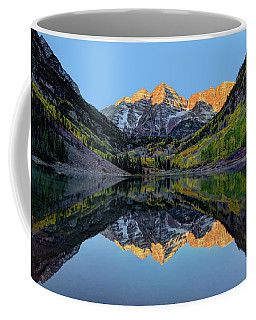 Maroon Bells Sunrise Coffee Mug