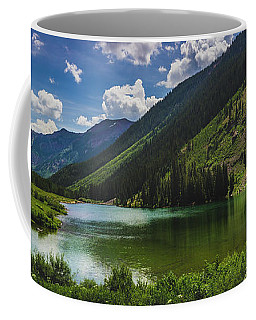 Maroon Lake Panorama Coffee Mug