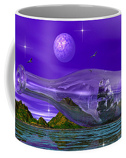 Coffee Mug featuring the photograph Marooned by Mark Blauhoefer
