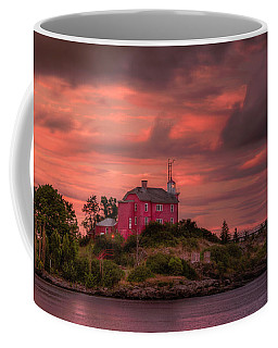 Marquette Harbor Lighthouse Coffee Mug
